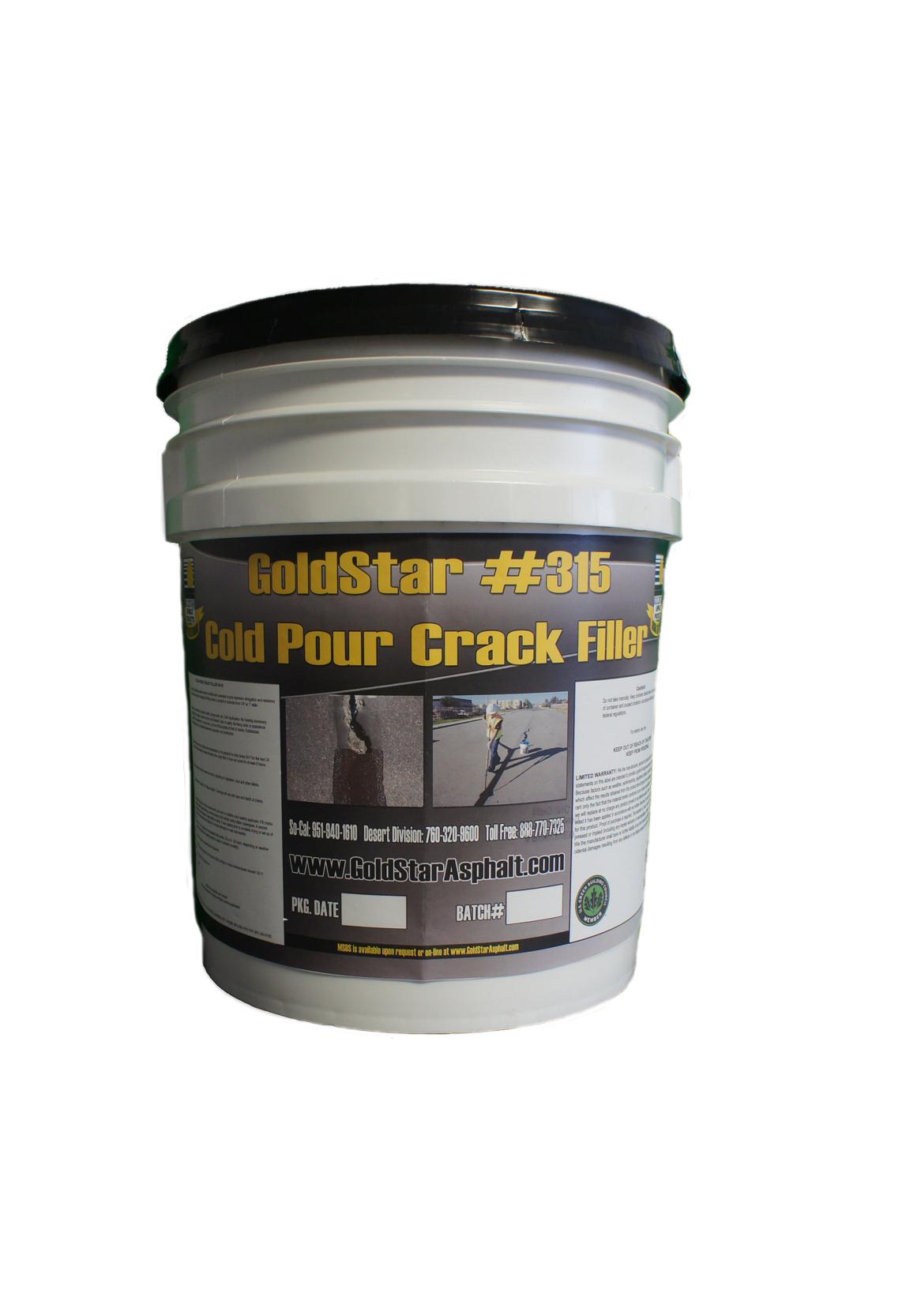 Asphalt Crack Filler Products : Cold pour crack filler goldstar asphalt products